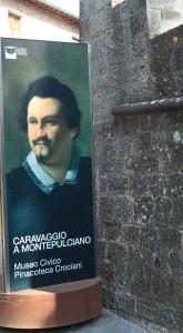 Caravaggio ~ One of the Noble Men of Montepulciano