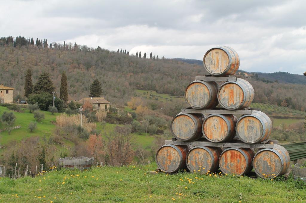Casaloste is nestled in the bucolic hills near Panzano