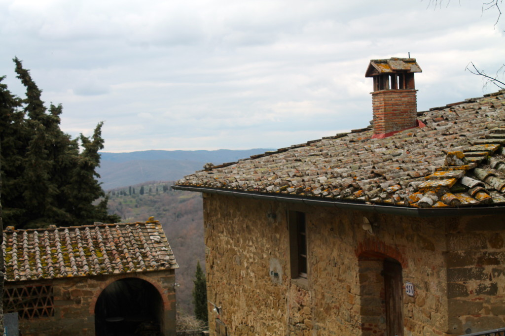 Escape to Volpaia for a stay at a medieval bed and breakfast stay.