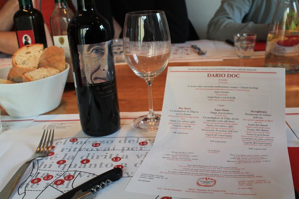 Pranza at Dario's family style ristorante Dario Doc ~ bring your own wine!
